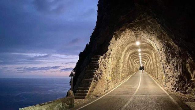 Fumat Tunnel, Mallorca.