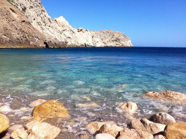 Cala Estremer beach's