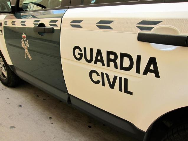 Guardia Civil vehicle