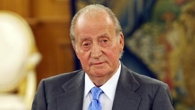 Former king Juan Carlos