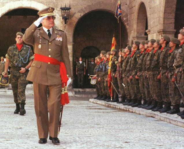 Tomás Formentín, a former commander general in the Balearics