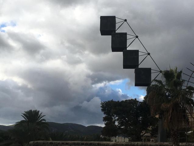 Es Baluard sculpture, Palma.