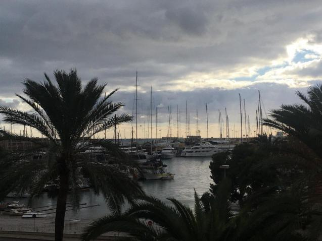 Palma harbour.