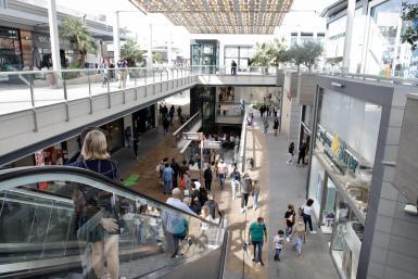 Fan shopping mall