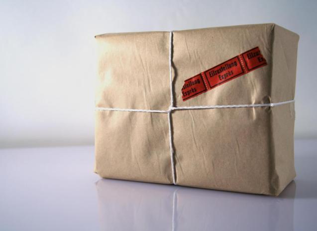 messenger package christmas gift
