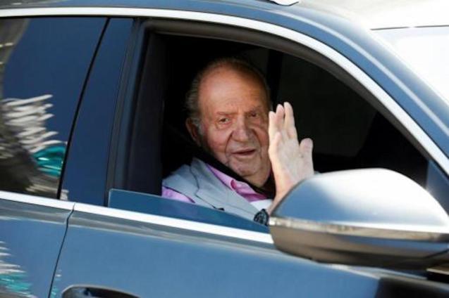 King Juan Carlos I.