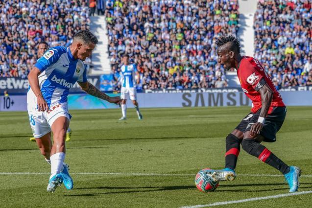Leganes vs RCD Mallorca in Butarque