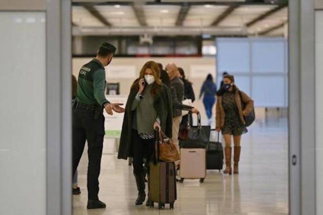 Madrid-Barajas Adolfo Suárez Airport.