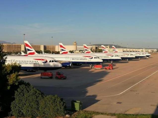 British Airways Planes.