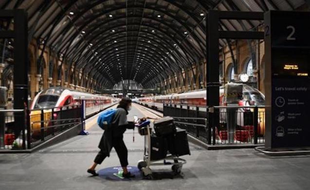 Rail Services halted.