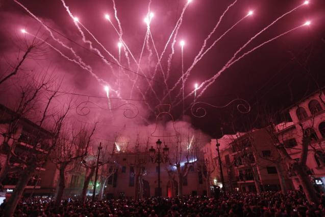 Sant Antoni fiestas in Sa Pobla, Mallorca
