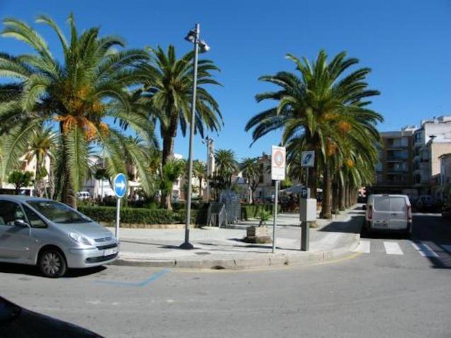 Plaça Espanya, Felanitx.