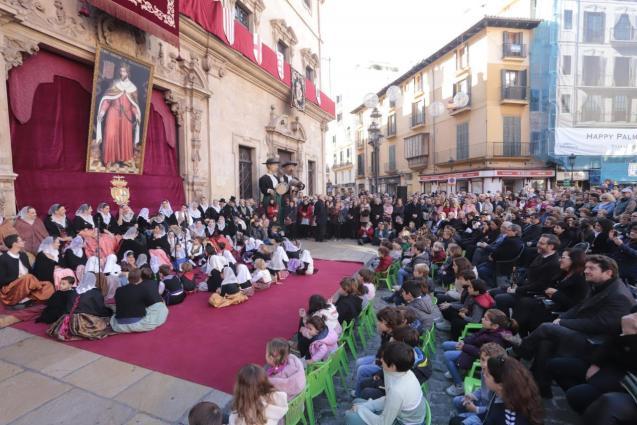 The Festival of the Standard, Palma Mallorca