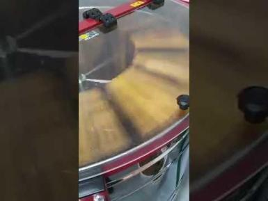 See how honey is extracted.