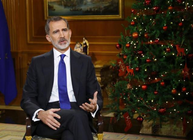 King Felipe's Christmas Eve message