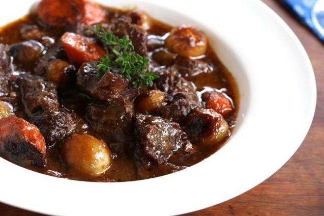 A hearty Beef Bourguignon