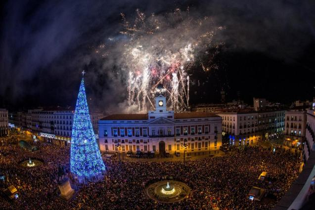 It was in the late 1850s that Madrid residents started to congregate in the Puerta del Sol on the night of December 31 to celebrate the start of the new year
