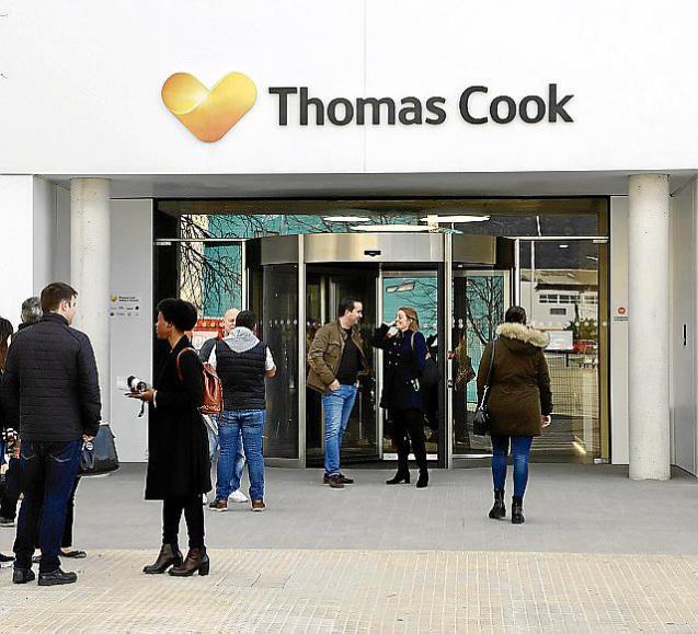 Thomas Cook headquarters in Palma
