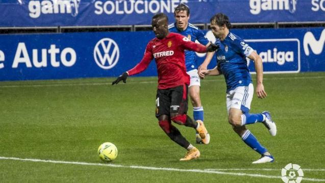 Lago Junior of Real Mallorca against Real Oviedo