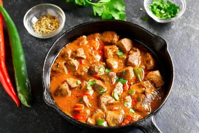 Portuguese style creamy piri-piri pork fillets