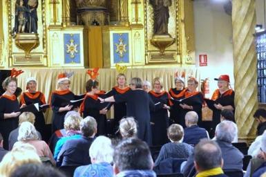 The georgie Insull singers.