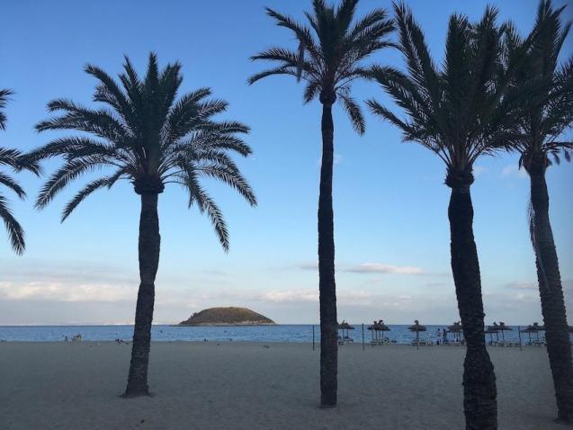 Playa de Magalluf, Mallorca.