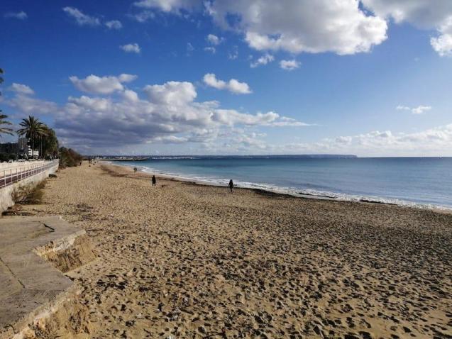 Palma beach.
