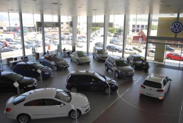 Car showroom, Palma.
