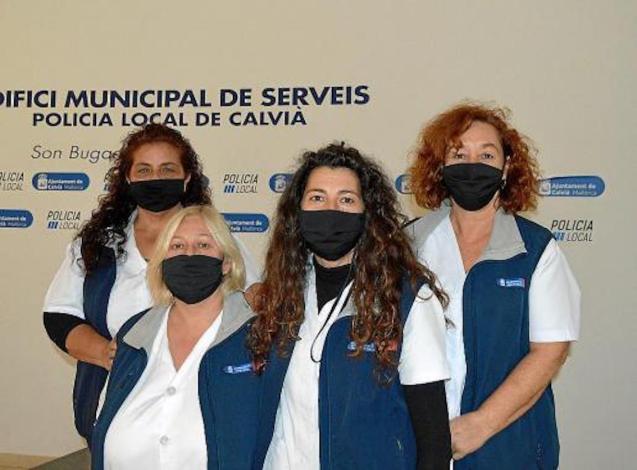 Oh Limpia Cleaners, Montserrat Sáenz, Suzanne Stasiak, Encarnación Pozo y Dolores Bermejo.