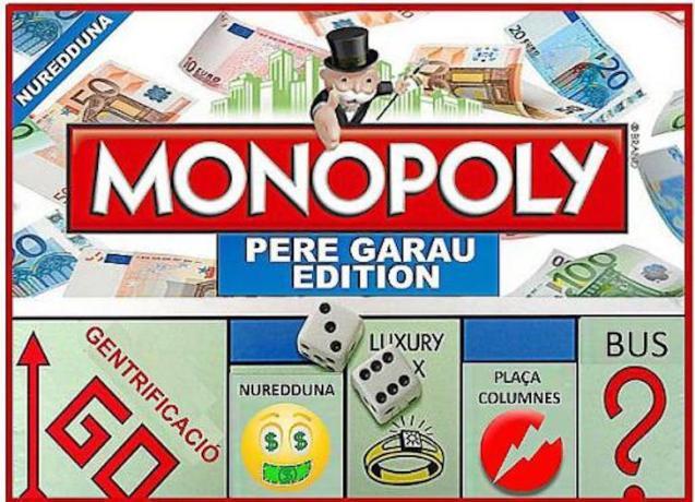 'Pere Garau Edition' of Monopoly.