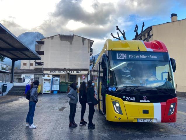 New Soller public transport