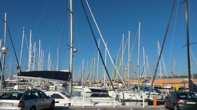 Boats in Palma, Mallorca
