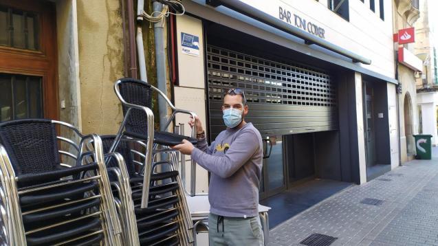 Closing up in Palma.