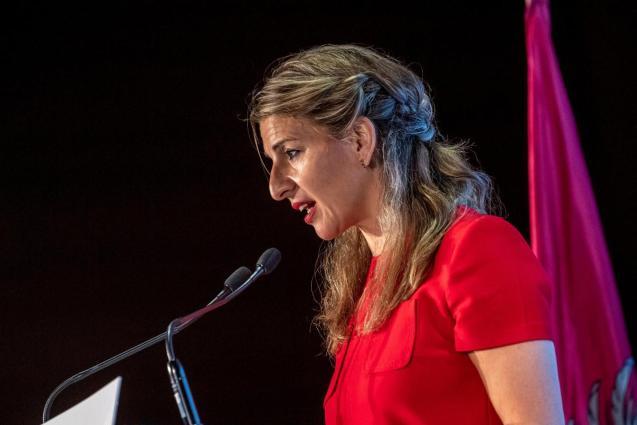 Yolanda Díaz, Spain's employment minister