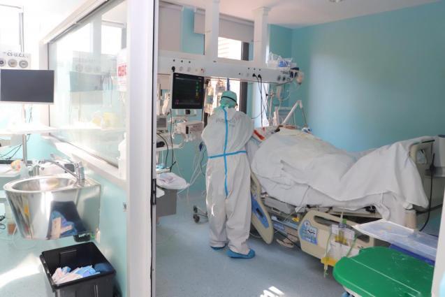 Intensive care, Son Llàtzer Hospital, Mallorca.