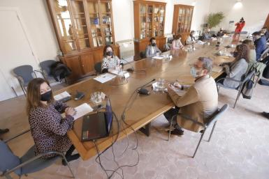 Friday meeting of the Balearic committee for reactivation.