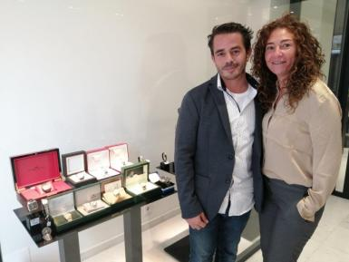 Julien Szware and Katia Sebagh of Joyeria Szware.
