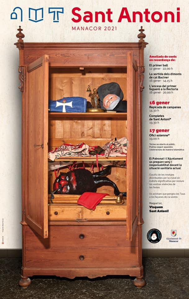 The paraphernalia for the Sant Antoni fiestas was staying in the wardrobe