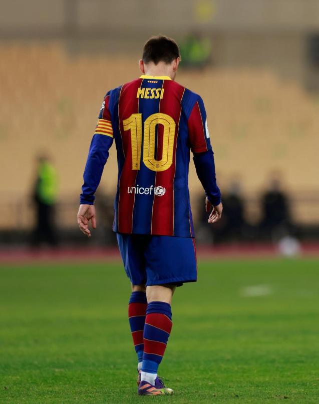 Messi two match ban.