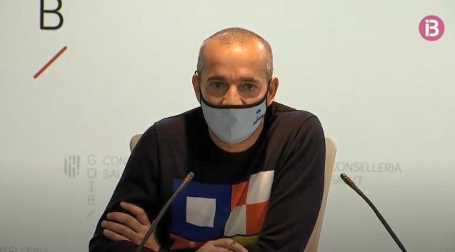 Oriol Lafau, mental health coordinator for the Balearics