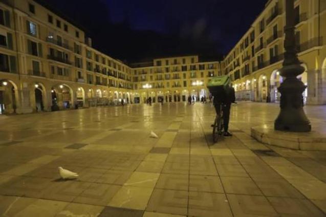 Plaça Mayor, Palma.