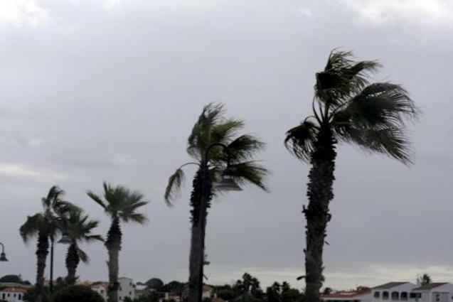Palma stormy weather.