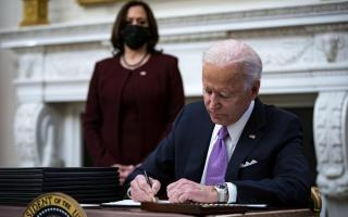 US President Joe Biden speaks on administration's Covid-19 response