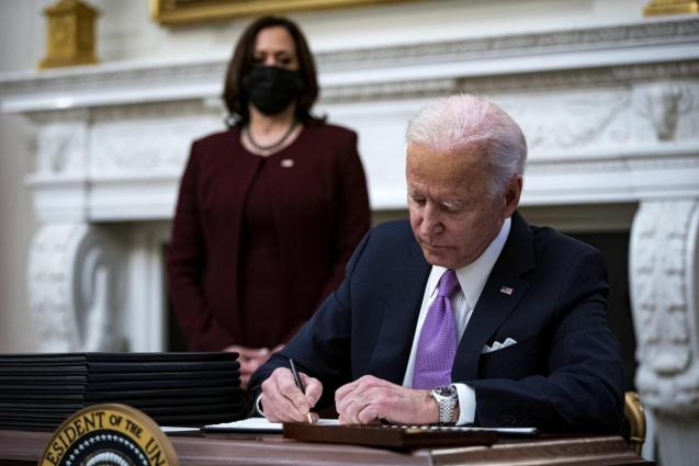US President Joe Biden speaks on administration's Covid-19 response