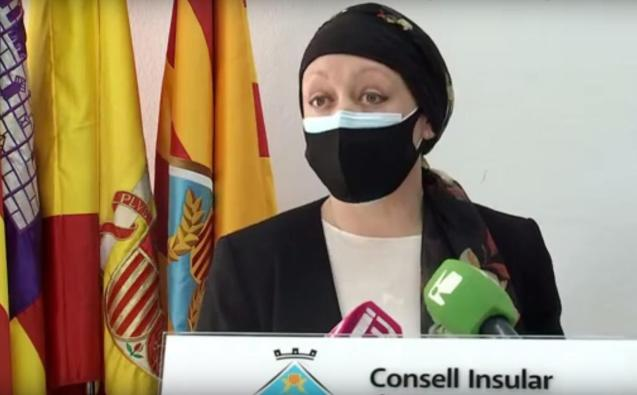 President of the Council of Formentera, Alejandra Ferrer