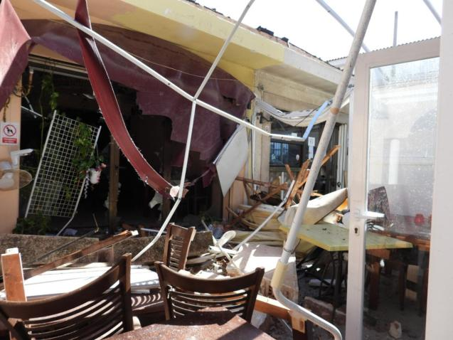 Destruction in El Toro