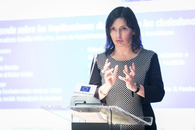 Camilla Hiller-Fry of EuroCitizens