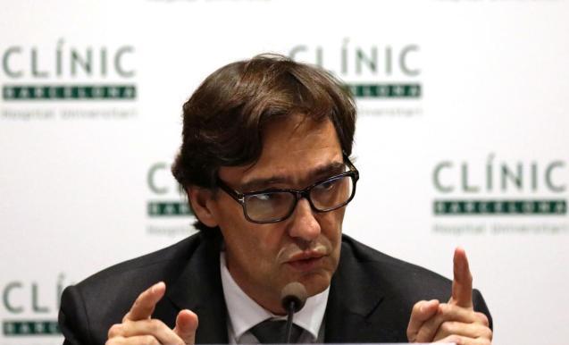 Spain's Health Minister Salvador Illa