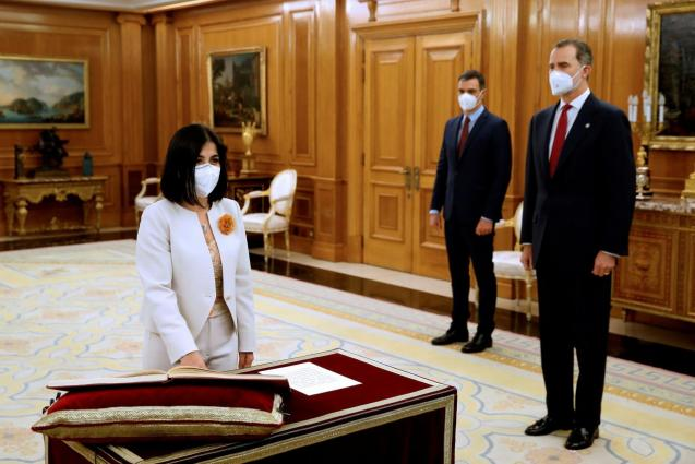 Spanish new Health Minister takes oath in Madrid