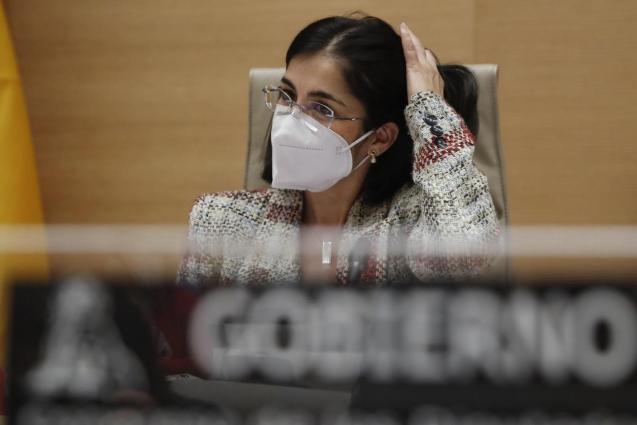 Spain's health minister, Carolina Darias